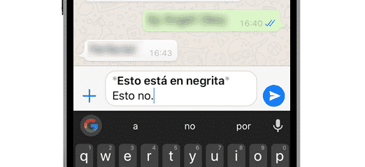 whatsapp negrita