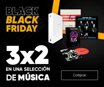 3x2 musica fnac black friday
