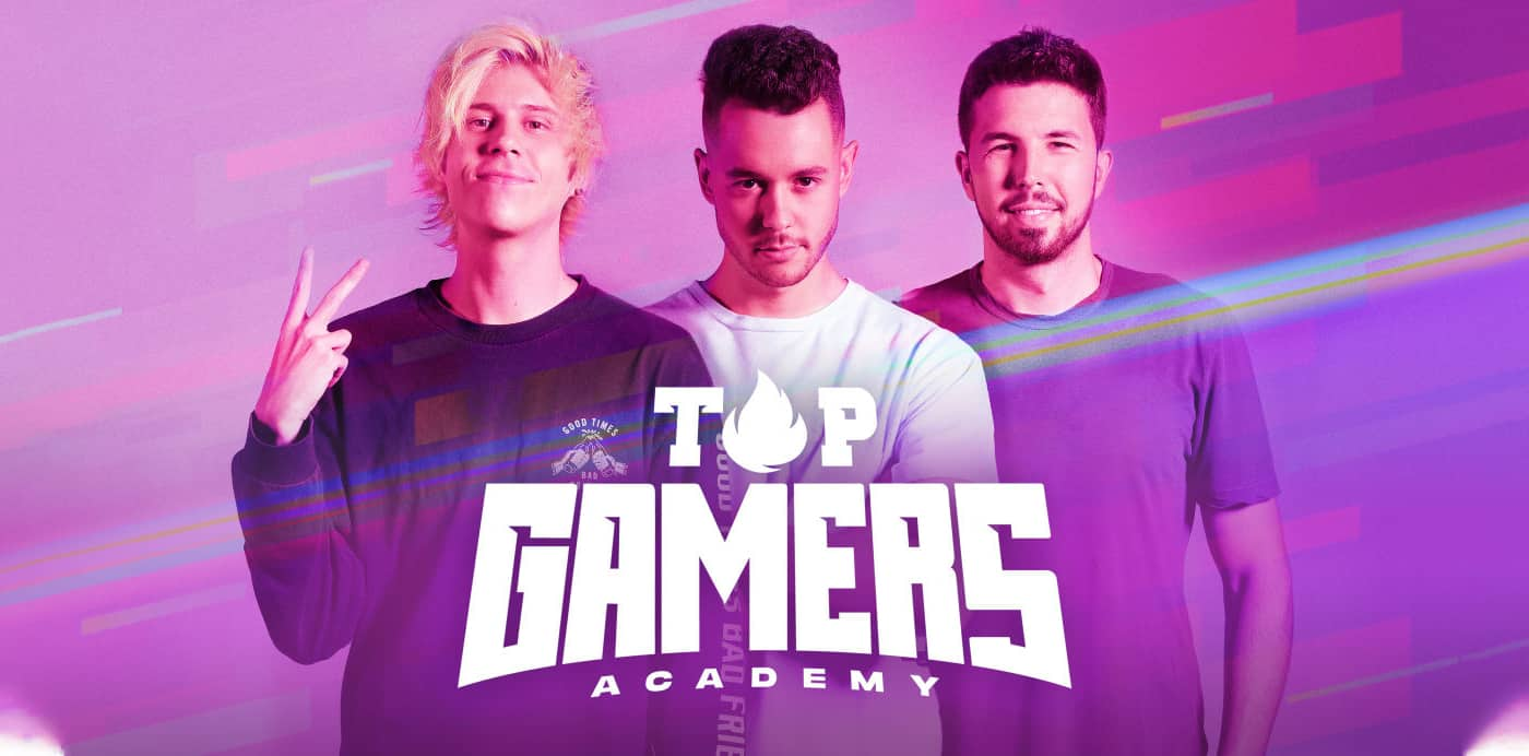 rubius, the grefg, willyrex top gamers academy