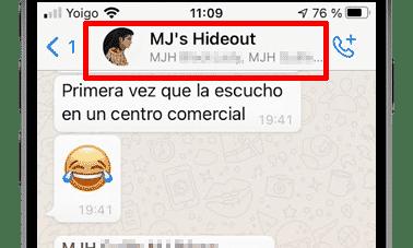 conversación whatsapp ios