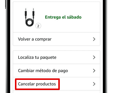 mis pedidos amazon app ios