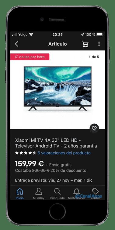 producto ebay app