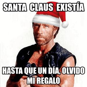 meme santa claus chuck norris