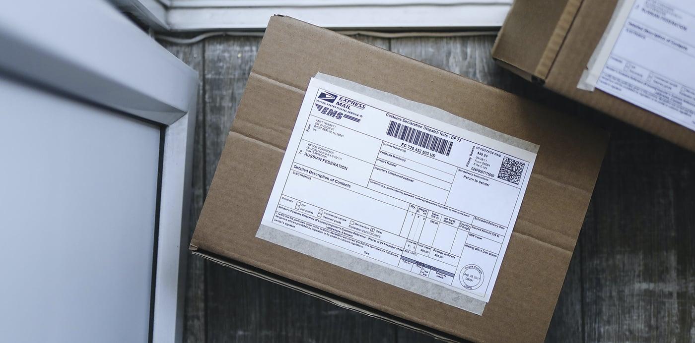paquete pedido aliexpress