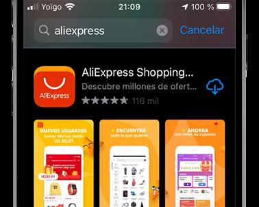 aliexpress descargar app store