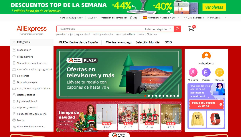 aliexpress web