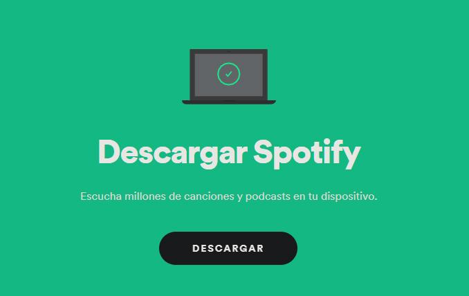 descargar spotify ordenador