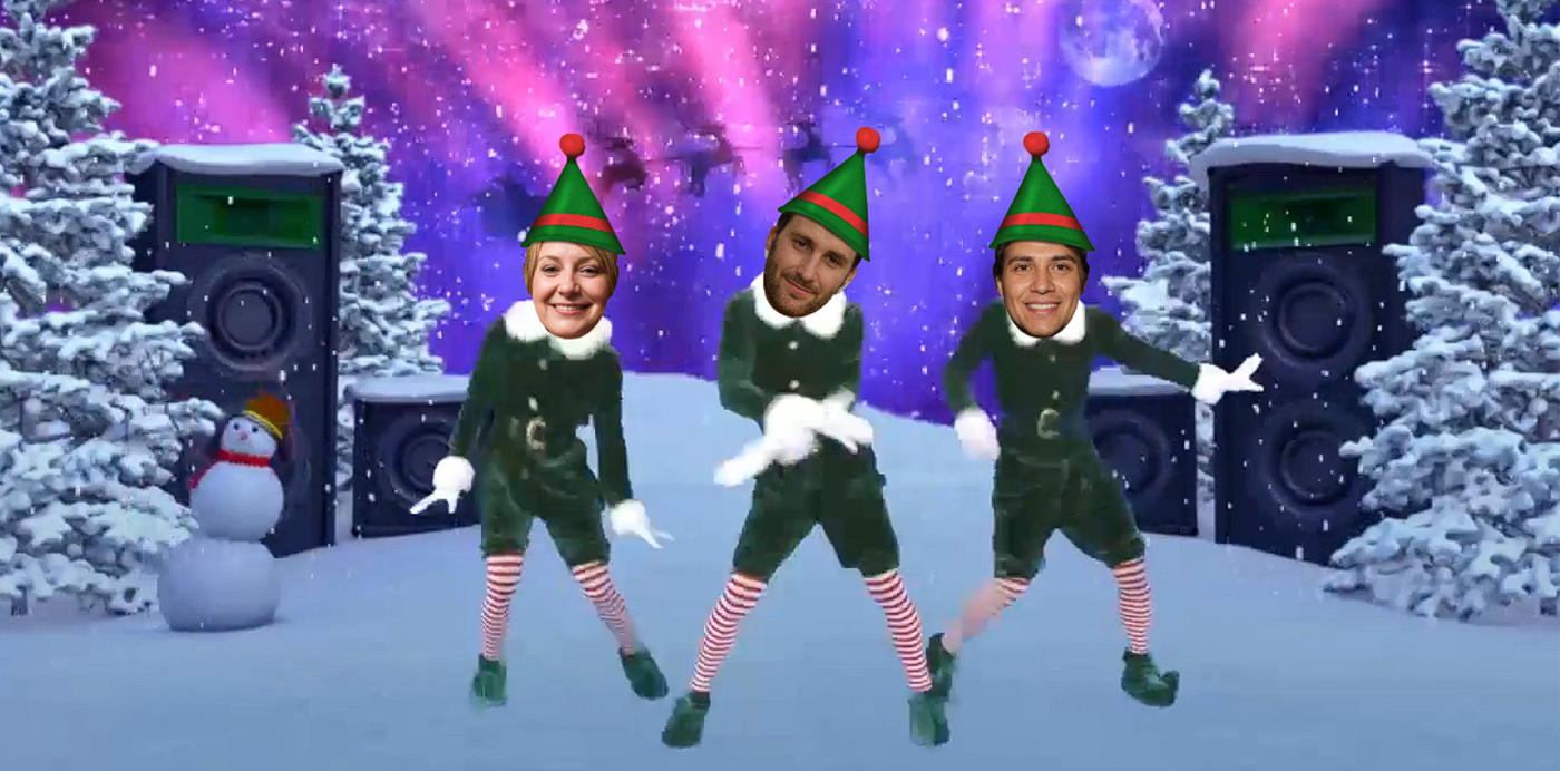 elf yourself video navidad elfos