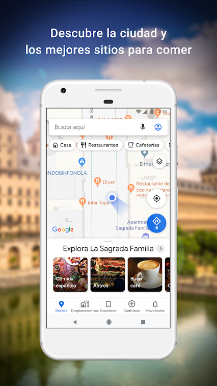 google maps locales