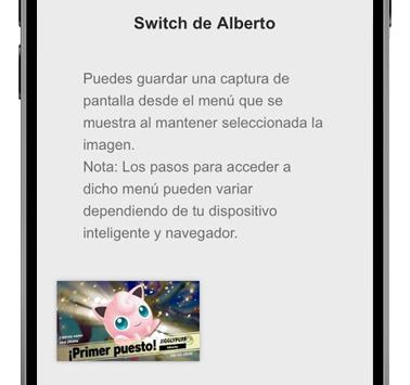 capturas nintendo switch en smartphone