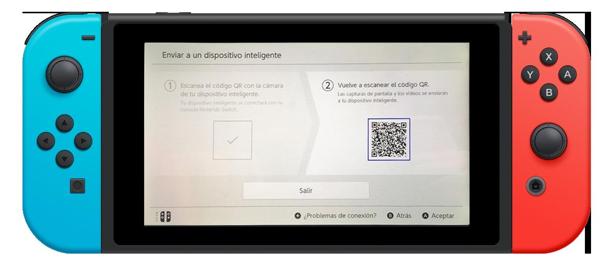 nintendo switch conexión smartphone tablet