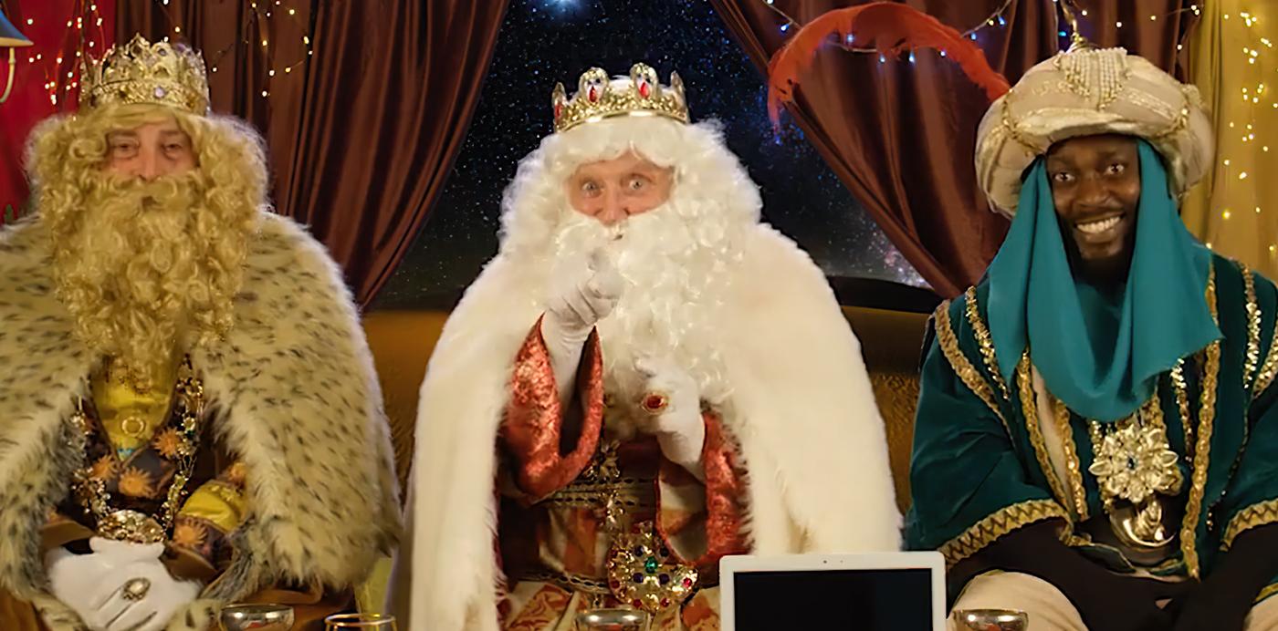 reyes magos video personalizado llamada carta