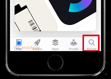 app store buscar
