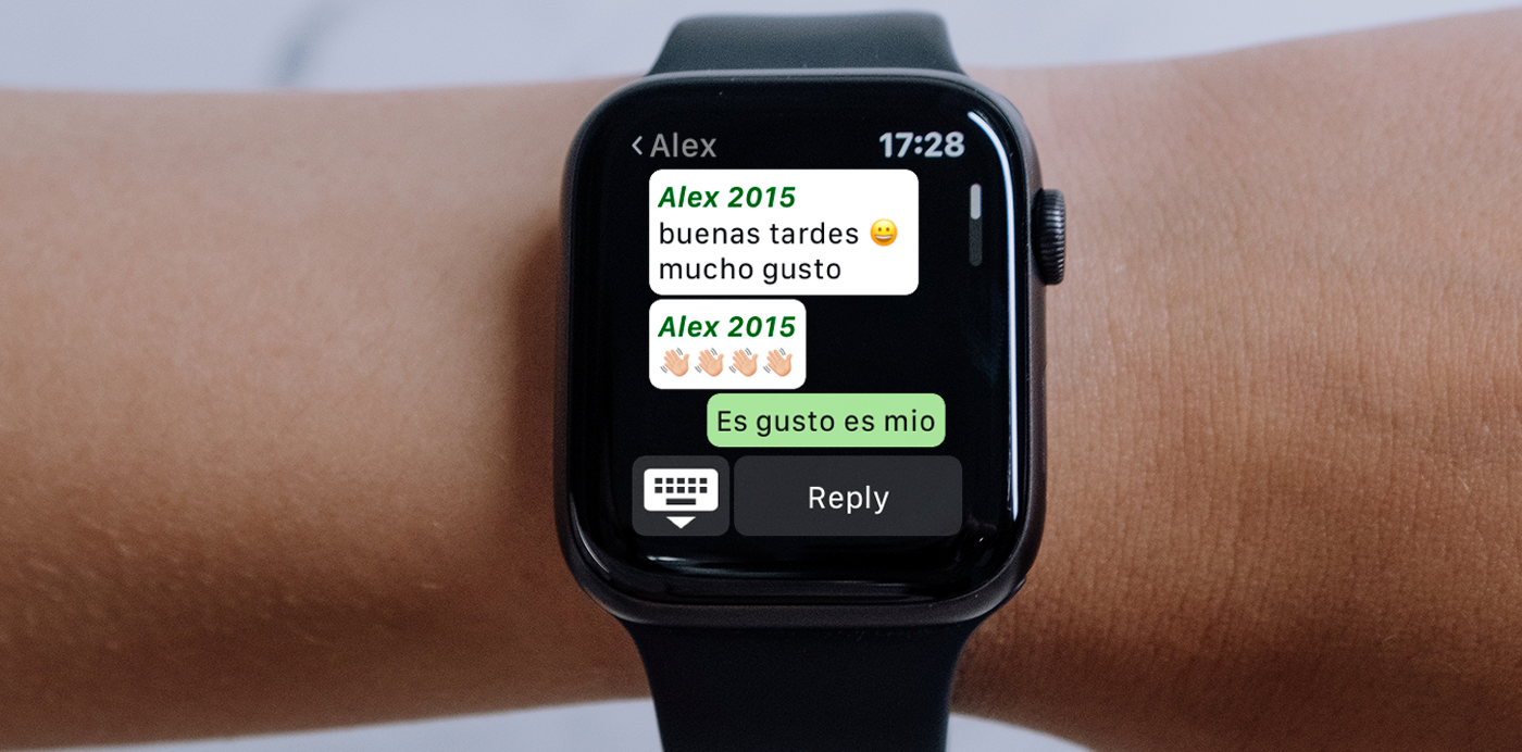 apple watch whatsapp watchchat app