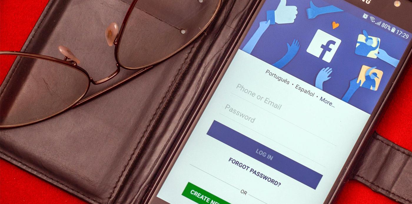 facebook iniciar sesion app smartphone