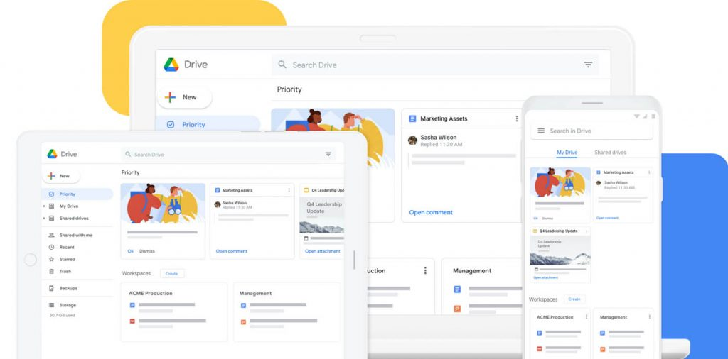 google drive multidispositivo