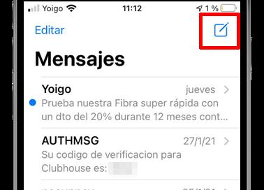 app mensajes ios