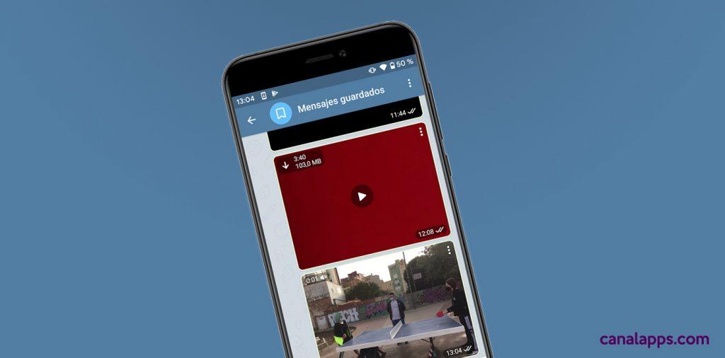 telegram vídeo streaming