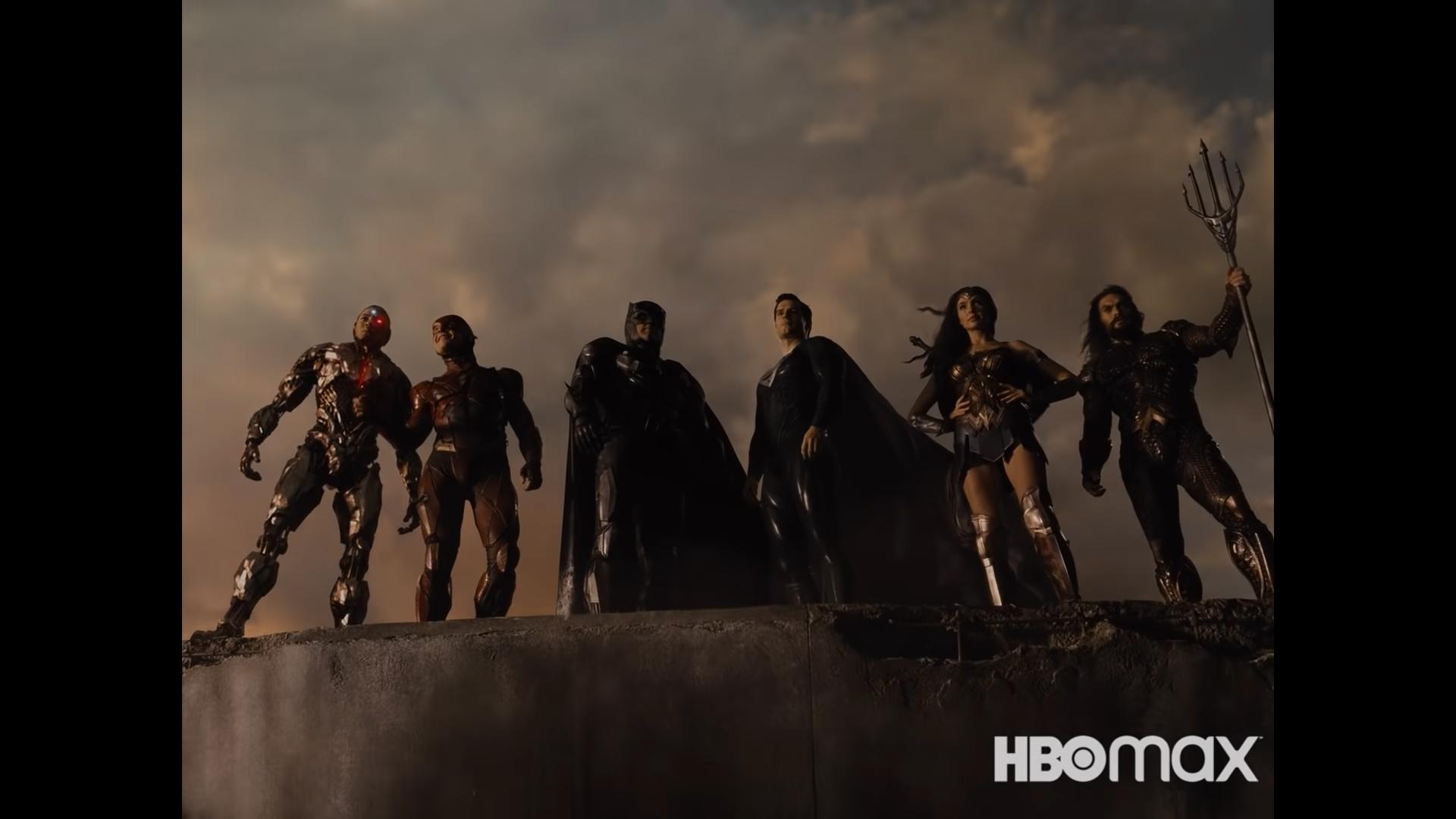 La Liga de la Justicia de Zack Snyder en 4:3