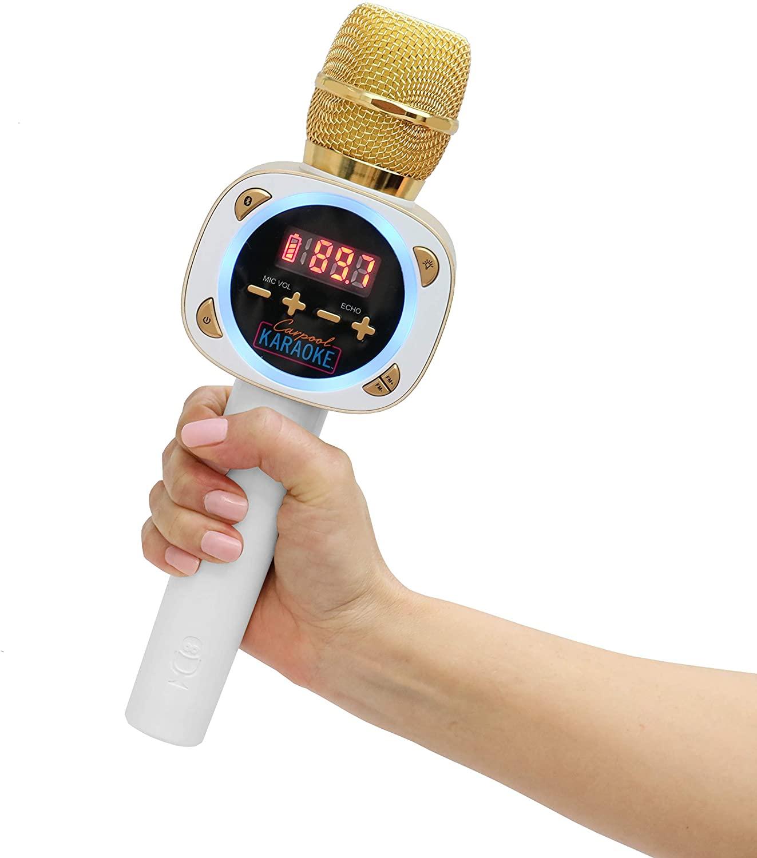 microfono tiktok carpool karaoke