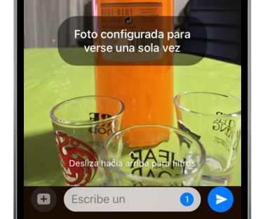 whatsapp enviar foto que solo se abre una vez activar opción