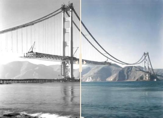 foto en blanco y negro a color