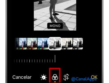 iphone editar foto blanco y negro