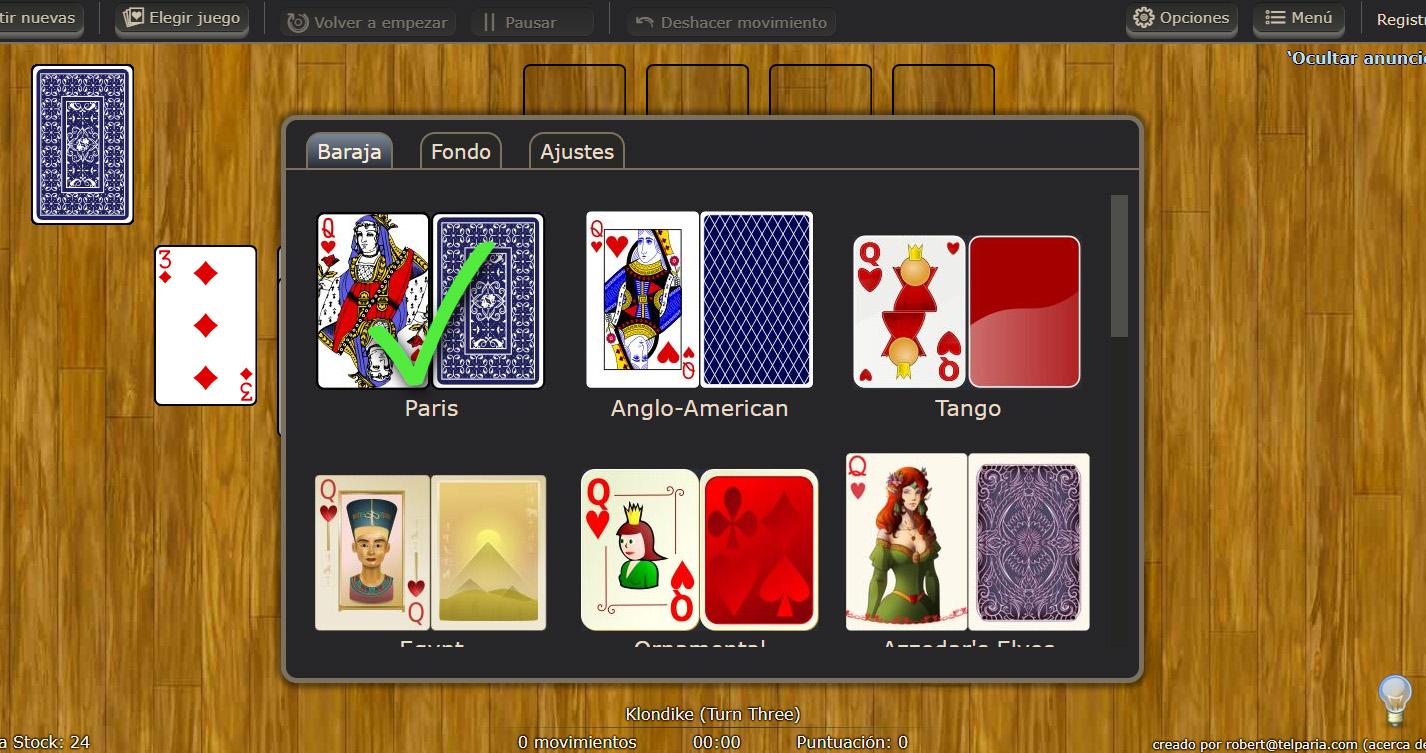 solitario world of solitaire